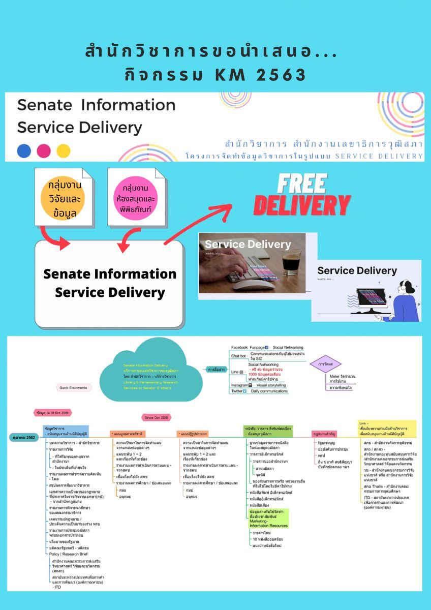 Senate information service Delivery